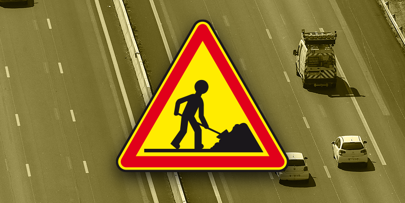 illustration de Travaux Bifurcation A61/A66 Villefranche-de-Lauragais