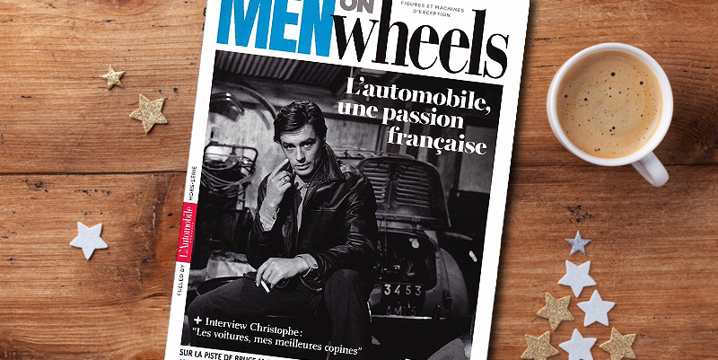illustration de Men on Wheels de l'Automobile Magazine