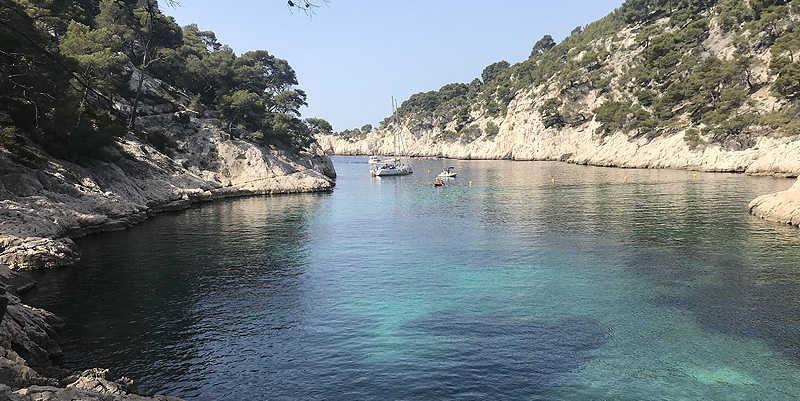 illustration de Les calanques de Cassis