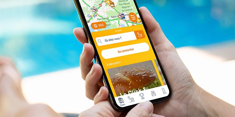 Radio VINCI Autoroutes (107.7 FM) Les nouveautés de l'application Ulys