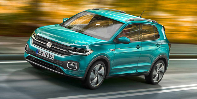 illustration de le T-Cross, le nouveau SUV de Volkswagen