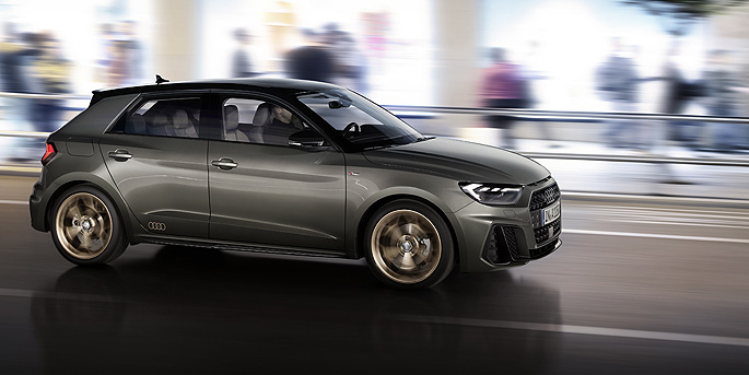 illustration de La nouvelle Audi A1