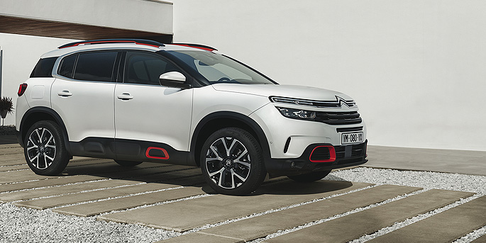 illustration de Le C5 Aircross, le SUV de Citroën