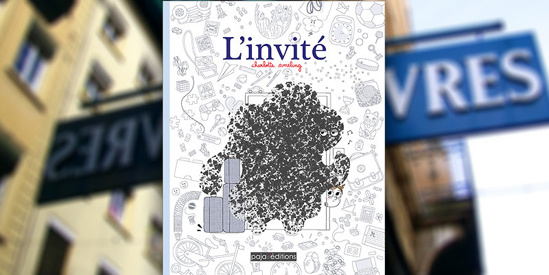 illustration de ''L'Invité'' de Charlotte Ameling