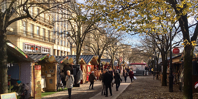 illustration de Marché de Noël à Bordeaux